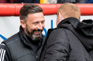 Derek McInnes and Neil Lennon