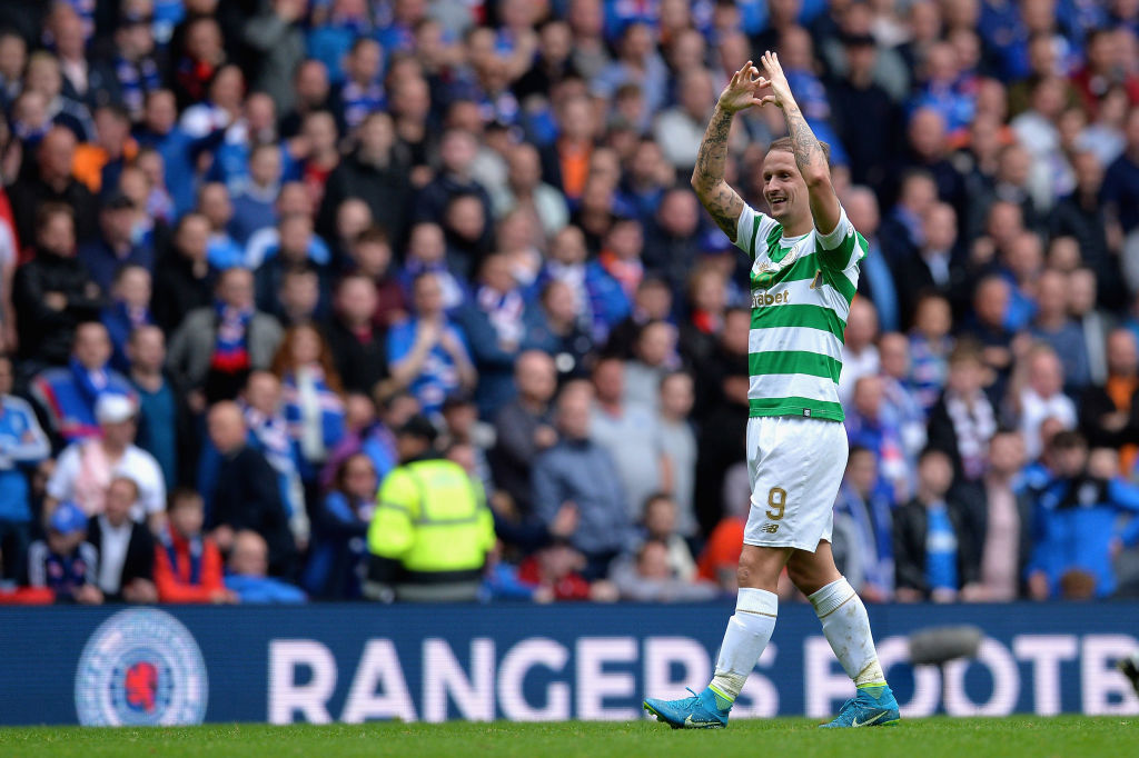 Leigh Griffiths at Ibrox