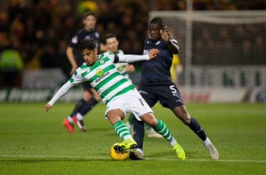 Daniel Arzani on his debut at Dundee