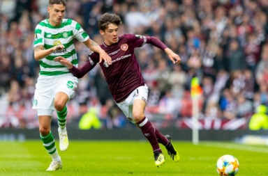 Aaron Hickey vs Celtic