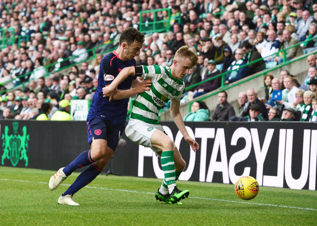 Neil Lennon hints at £50m Kieran Tierney valuation