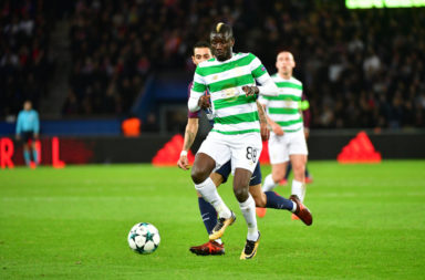 Former Celtic midfielder Eboue Kouassi