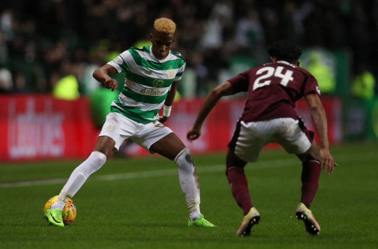 Former Celtic player Charly Musonda