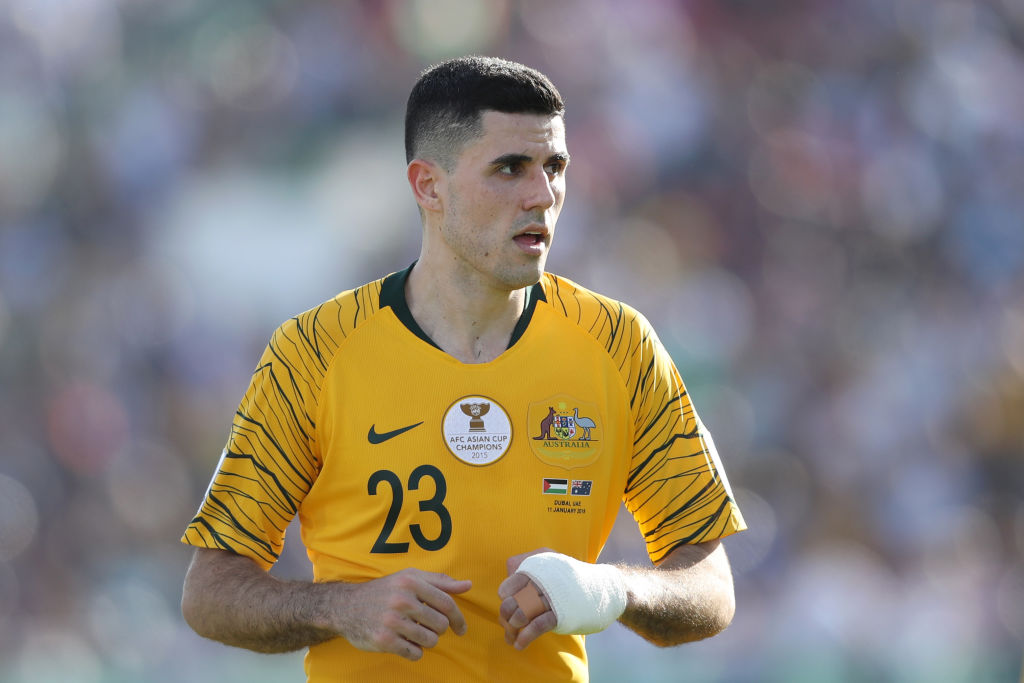 Rogic in action for Australia