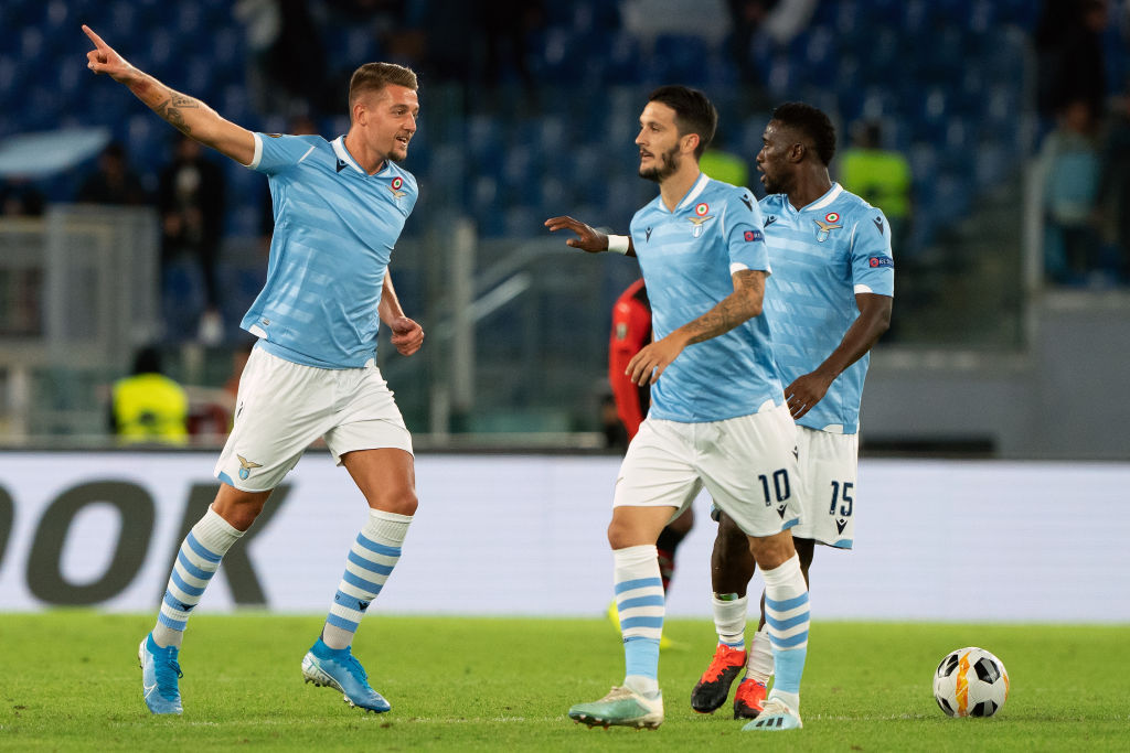 Lazio fans allegedly perform fascist salute before Celtic Europa League clash