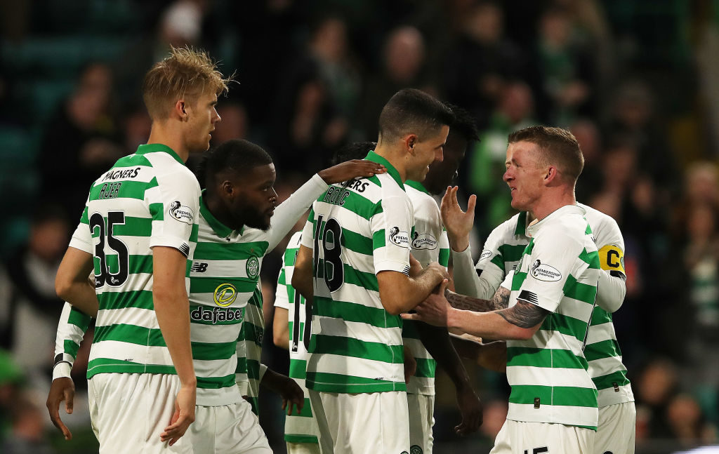 Five star second-half helps Celtic wipe out bitter rivals' goal advantage