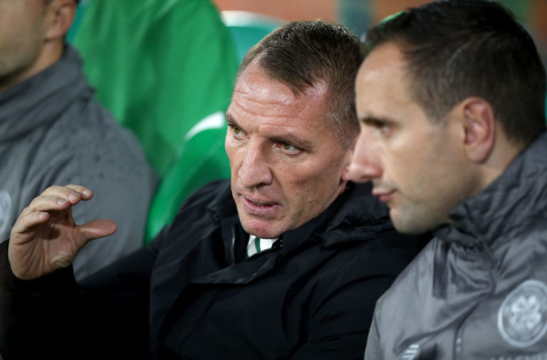 Former Celtic manager Brendan Rodgers