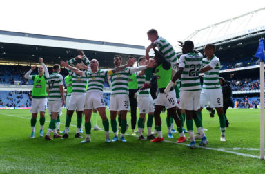Celtic win against Rangers