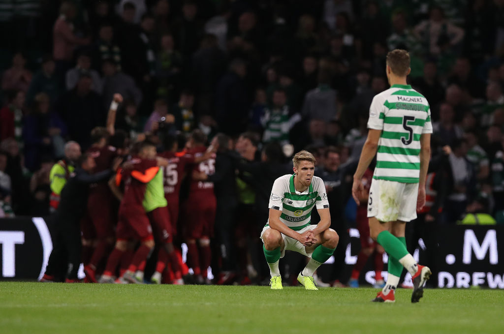 Cluj dump Celtic out