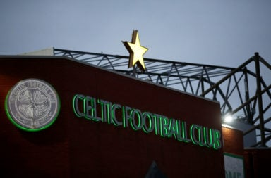 Celtic Park on a Europa League night