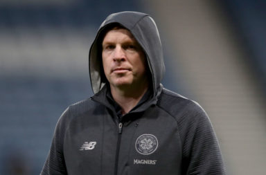 Celtic manager Neil Lennon could feel Rangers cup final pressure.