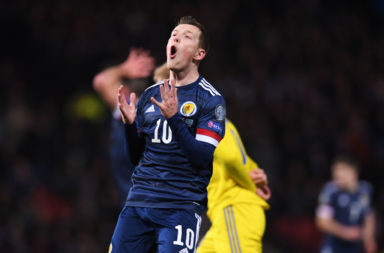 Celtic midfielder Callum McGregor thinks Scotland can beat anyone on form.