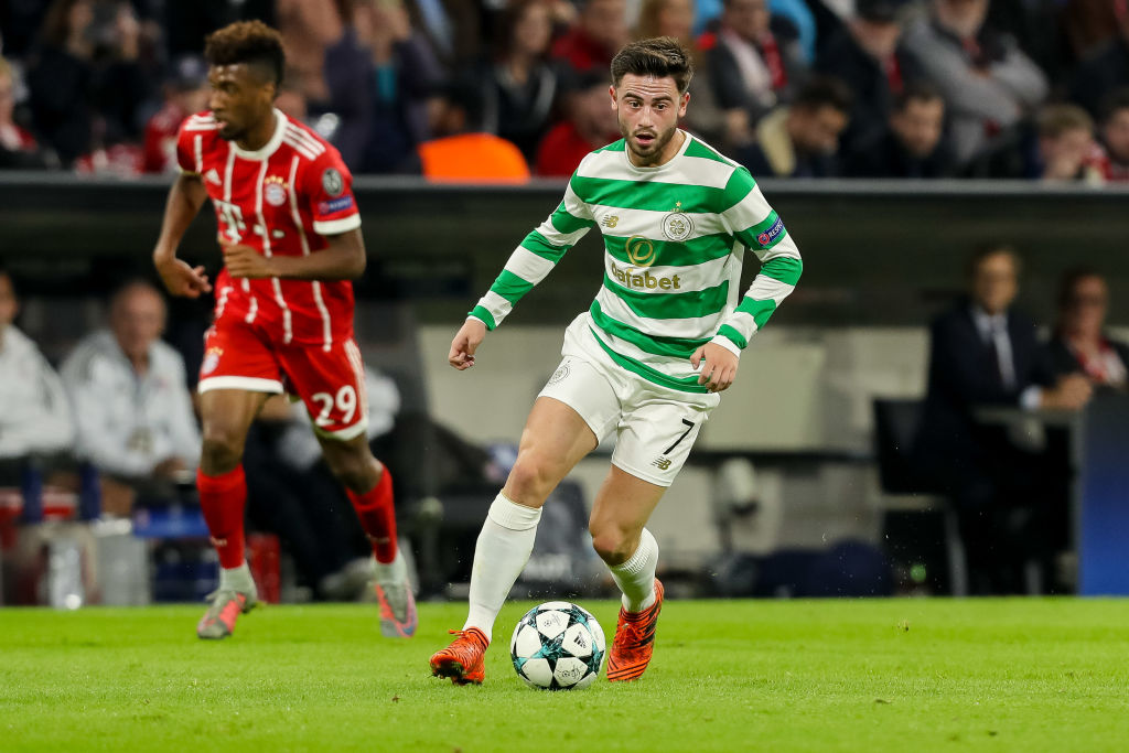 Former Celtic loan player Patrick Roberts
