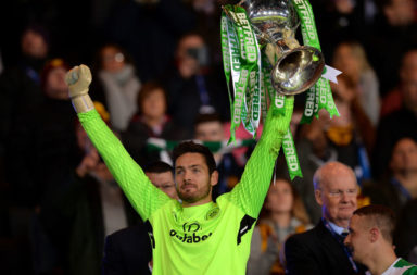 Former Celtic goalkeeper Craig Gordon