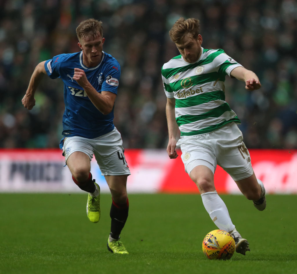 Former Celtic midfielder remaining hopeful after Scotland shun