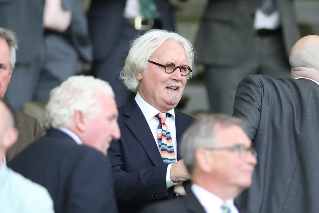 Celtic fan Billy Connolly is backing Berwick Rangers.