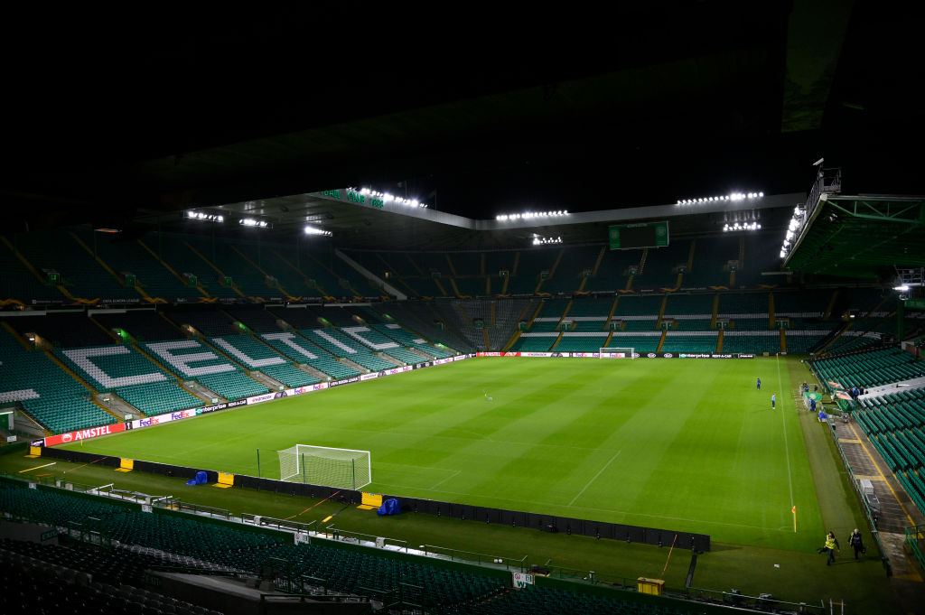 General view of Celtic Park