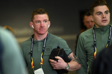 Celtic star Jonny Hayes