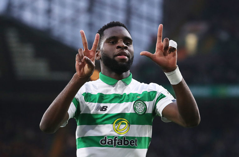 Celtic star Odsonne Edouard