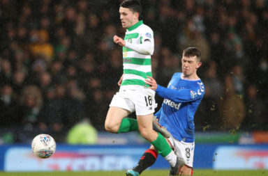 Lewis Morgan didn't impress in his latest showing as Celtic striker against Rangers.
