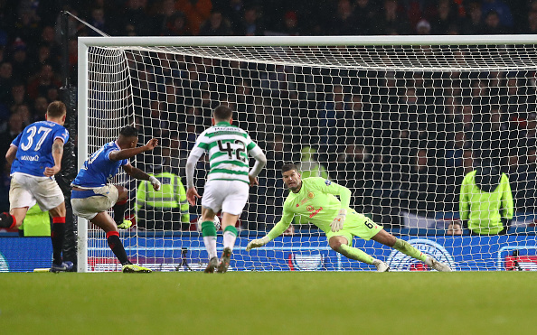 Rangers 2 points off Celtic after winning Glasgow derby 2-1