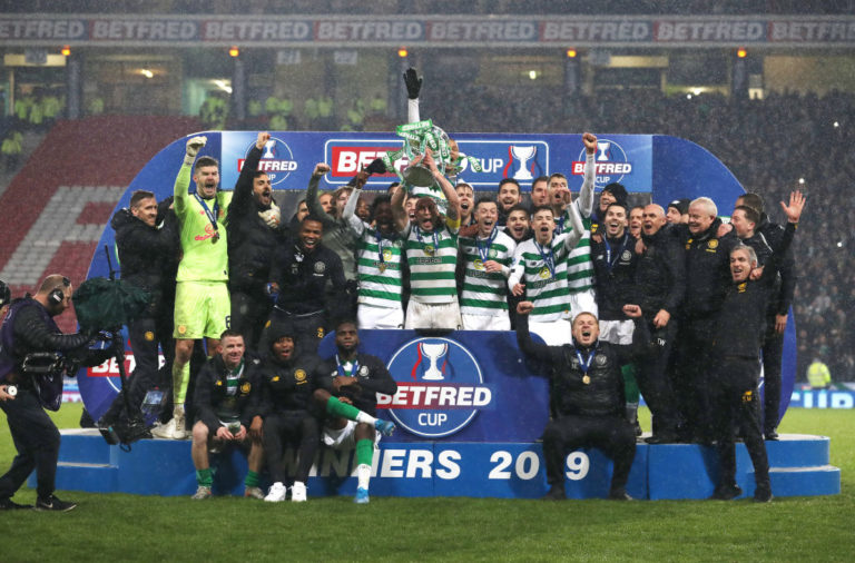 Celtic win Scottish League Cup