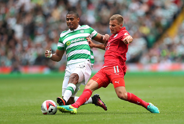 Former Celtic defender Saidy Janko gets to experience Rangers at Ibrox.