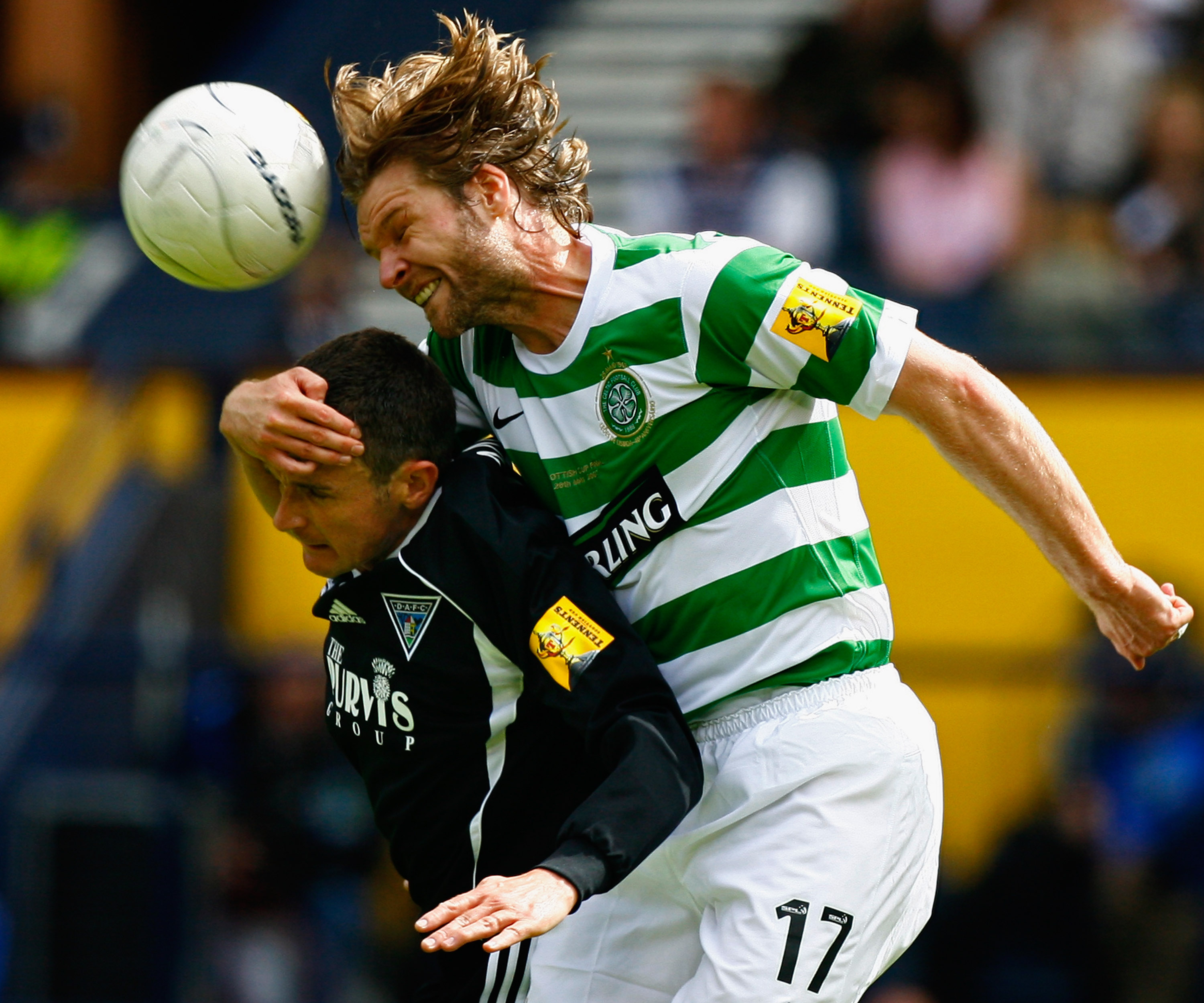 Former Celtic defender Steven Pressley