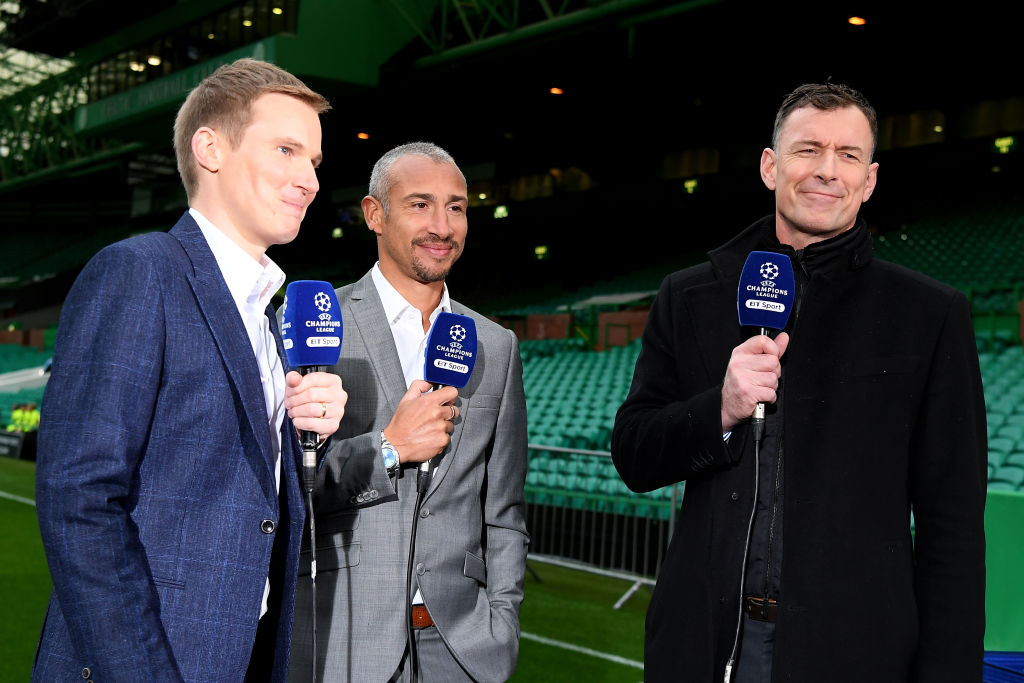 BT Sport coverage of a Celtic match