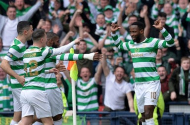 Former Celtic striker Moussa Dembele