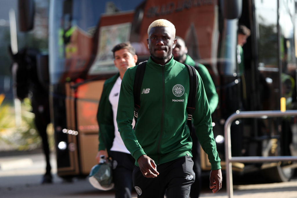Celtic midfielder Eboue Kouassi
