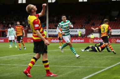 Tom Rogic at Firhill