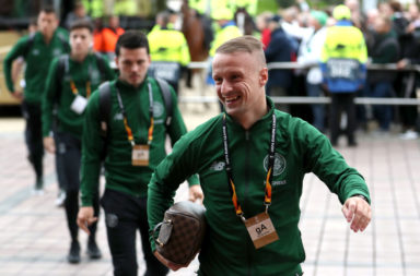 Celtic striker Leigh Griffiths