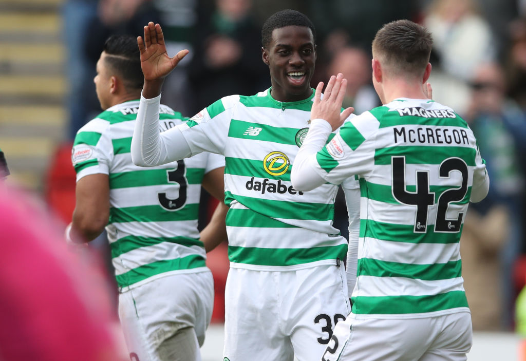 Former Celtic man Timothy Weah