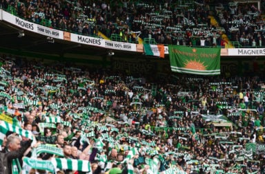 The Celtic faithful