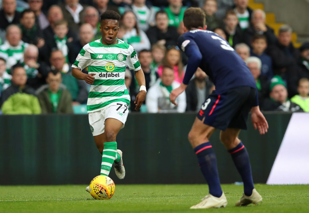 Celtic youngster Karamoko Dembele