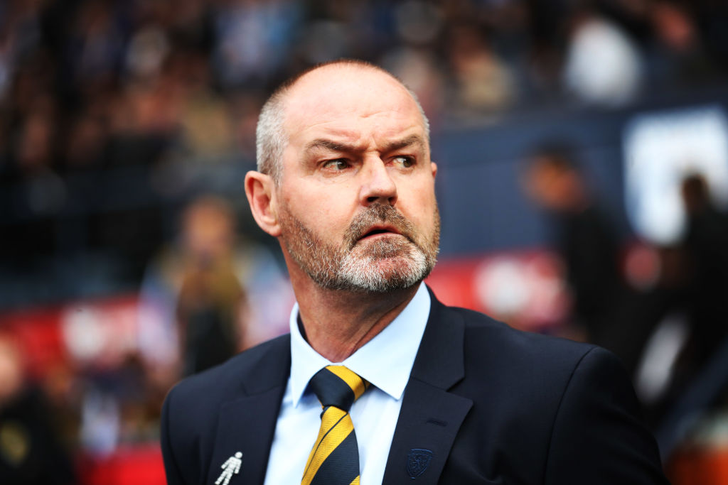 Steve Clarke's Scotland face the Czech Republic tonight