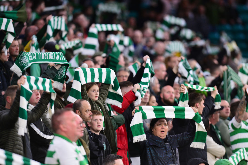 The Celtic Park faithful