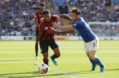 Jordon Ibe in action for Bournemouth