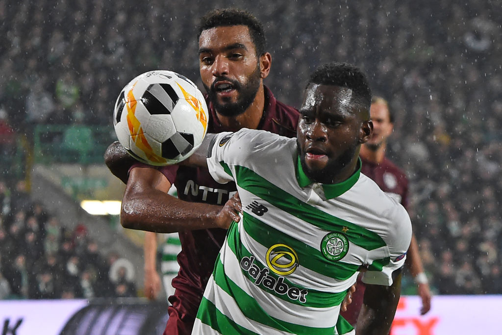 Billel Omrani and Odsonne Edouard