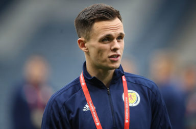 Scotland international Lawrence Shankland