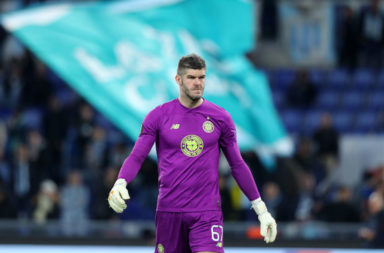 Celtic number one Fraser Forster