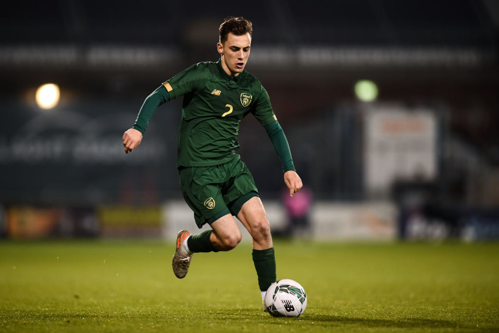 Celtic's Lee O'Connor, who recently joined Partick Thistle on loan