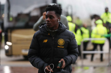 Celtic full-back Jeremie Frimpong