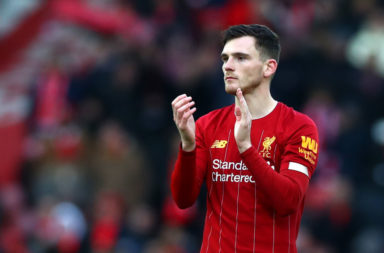 Liverpool star and Celtic supporter Andy Robertson