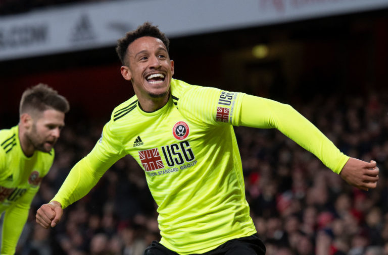 Sheffield United's Callum Robinson