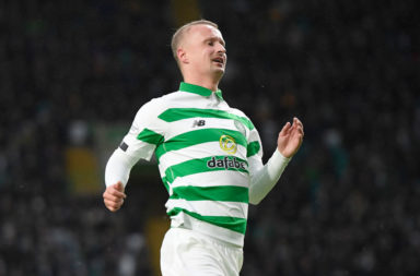Celtic forward Leigh Griffiths