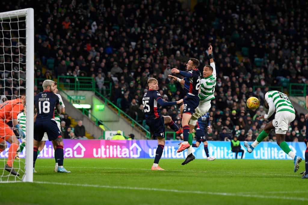 Odsonne Edouard scores his first goal against Ross County