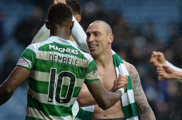 Scott Brown and Moussa Dembele