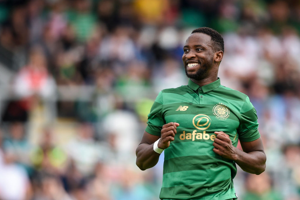 Former Celtic hero Moussa Dembele